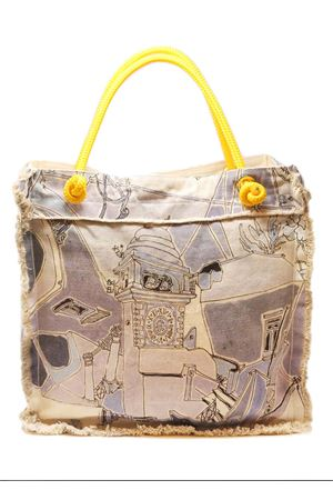 Beach bag tote from Eco Capri store  Eco Capri | 31 | BBTPZZAZPIAZZAAZZURRA