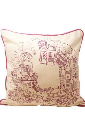Bouganvillae Capri square cushion  Eco Capri | 5032252 | PL360BGVBOUGANVILLE