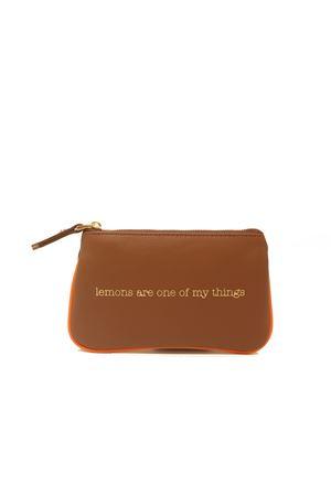 Mini pochette da donna in pelle Eco Capri | 63 | ZIPCHCAGVLEMONS