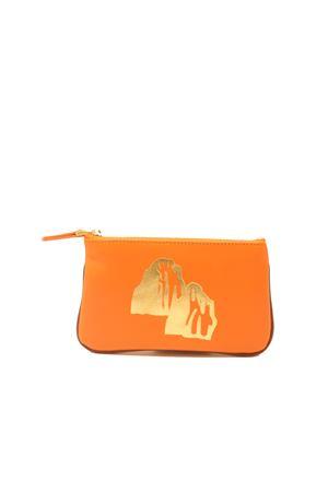 Small zipper pochette with faraglioni  Eco Capri | 63 | ZIPORNFARAGLIONI