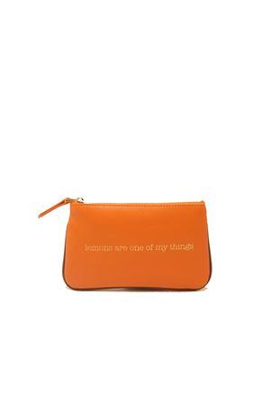 Small zipper pochette  Eco Capri | 63 | ZIPORNLEMONS