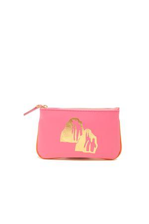 Small zipper pochette with Faraglioni  Eco Capri | 63 | ZIPPNKFARAGLIONI