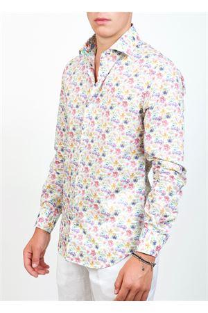camicia da uomo con fantasia viole Ganesh | 6 | G7000MVIOLEMULTI