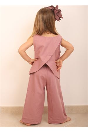Pink top opened on the back  Giro Quadro | 40 | GQ44ROSA ANTICO