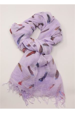 Liliac scarf with feather Grakko Fashion | 77 | MICROMODALSCARFLILLA