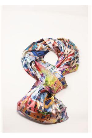 landscape print scarf  Grakko Fashion | -709280361 | SCIARPAPAESAGGIOBROSA