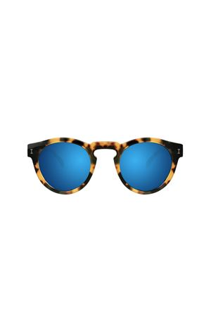 Leonard sunglasses with tortoise frame and blue lenses Illesteva | 53 | LEONARDBLUETORTOISE