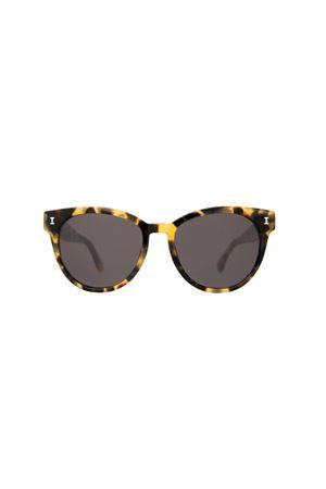 Tortoise York model Illesteva sunglasses  Illesteva | 53 | YORKTORTOISE