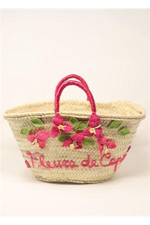 borsa in paglia con fiori di bouganvillea di Capri La Bottega delle Idee | 31 | BORSABOUGANVILLEAFUXIA