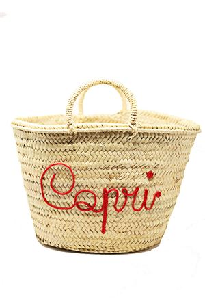 Customizable straw bag  La Bottega delle Idee | 31 | BORSAPAGLIACAPRISTRAWXL