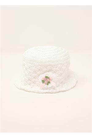cappellino neonata in crochet bianco La Bottega delle Idee | 26 | CAPPELLINOBIANCO