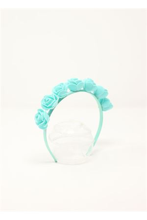 Headband with green roses  La Bottega delle Idee | 20000050 | CERCHIETTOFIORIVERDETIFFANY