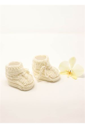 New born booties in pure wool  La Bottega delle Idee | 12 | MUFFOLECREAM