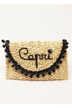 Pochette Capri con pon pon La Bottega delle Idee | 31 | POCHETTECAPRI