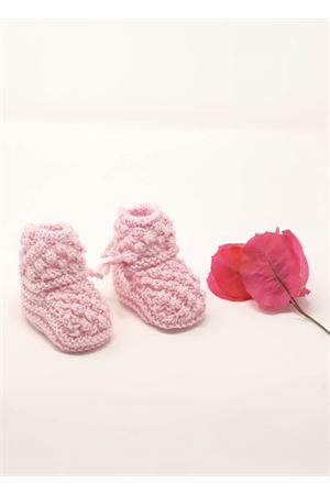 Pink booties for new born  La Bottega delle Idee | 12 | MUFFOLEROSA