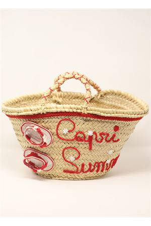 Straw bag with Capri sandals  La Bottega delle Idee | 31 | SANDALSBAGROSSO