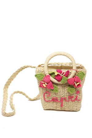 Shoulder and handbag for baby girl in straw  La Bottega delle Idee | 31 | TRACOLLAANELLIBOUGANVILLEA
