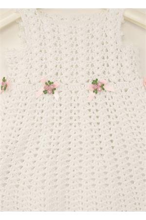 vestito neonata uncinetto bianco 3-6 mesi La Bottega delle Idee | 5032262 | VESTITOUNICNETTOBIANCO2