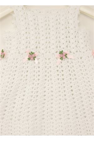 Corchet white dress for new born 3 -6 months  La Bottega delle Idee | 5032262 | VESTITOUNICNETTOBIANCO2