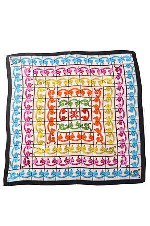 Baroque pattern 100% silk scarf La Dolce Vista | -709280361 | BAROCCOMULTICOLORMULTICOLOR