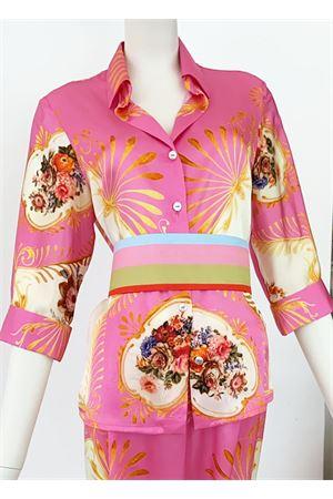 Pure silk shirt with floral pattern La Dolce Vista | 6 | CAMICIA SETAROSA