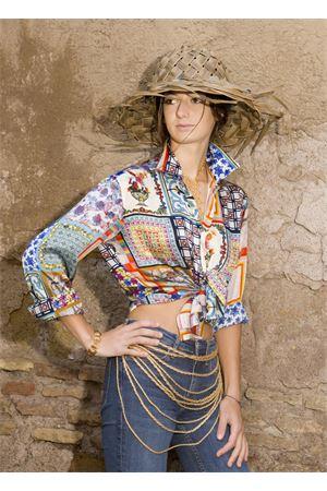 Silk shirt  La Dolce Vista | 6 | CAMICIAFOULARDMULTICRAZY