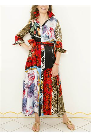 Spotted fatnasy silk dress La Dolce Vista | 5032262 | LUNGOCRAZYMACULATO