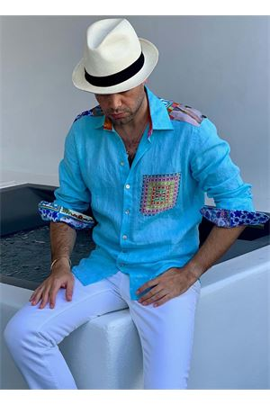 Pure linen tailor-made men shirt  La Dolce vista | 6 | CAMICIALINOUOMOTURCHESE