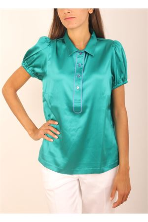 Green silk shirt Laboratorio Capri | 6 | NEWPANSEBISVERDE
