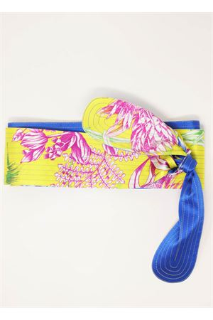 Yellow silk belt  Laboratorio Capri | 22 | OBICACTUSGIALLOAZZ