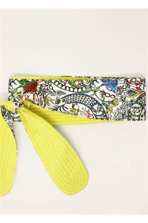 Silk doubleface obi belt  Laboratorio Capri | 22 | OBICHINAGIALLO