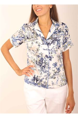 Short- sleeved silk shirt Laboratorio Capri | 6 | PIGIAMINITOILEDEJOUY