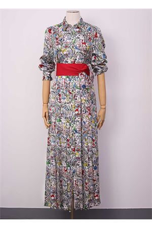 Long dress in silk Laboratorio Capri | 5032262 | QUISI/CHINA