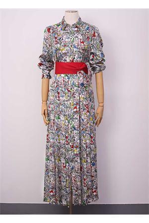 Vestito lungo stile chemisier in seta Laboratorio Capri | 5032262 | QUISICHINAMULTI