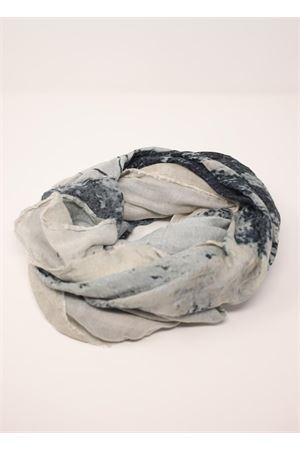 Faraglioni postcard scarf Laboratorio Capri | 77 | S140-100FARAGLIONI