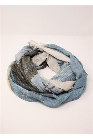 Blue grotto scarf Laboratorio Capri | 77 | S140-100GROTTAAZZ