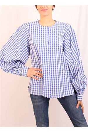 Blue checked shirt Laboratorio Capri | 6 | STEFYAZZURRO