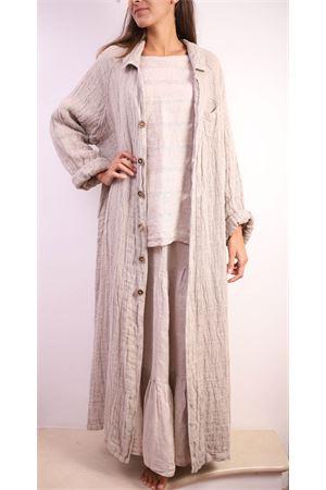 Oversize long linen coat  Linomania | 3 | CAPPOTTOLINOBEIGE