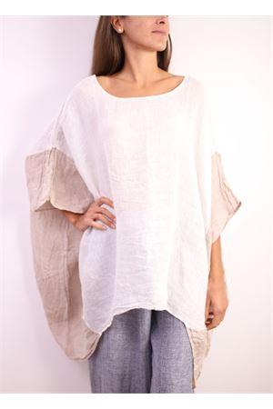 casacca in lino bianco Linomania | 2035781291 | CBOMBABIANCO