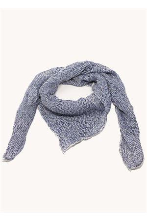 Blue linen scarf  Linomania | -709280361 | FOULARDLINOBLU