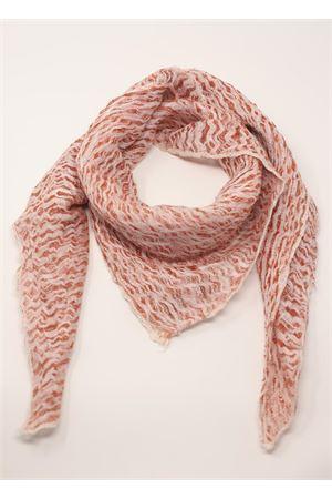 foulard in puro lino rosso corallo Linomania | -709280361 | FOULARDLINOROSSO