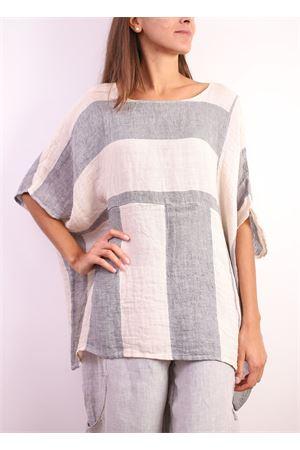 Striped linen sweater  Linomania | 2035781291 | GARITTABLURIGA