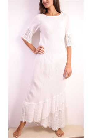 Long white linen dress  Linomania | 5032262 | MAXIBELLEZZABIANCO