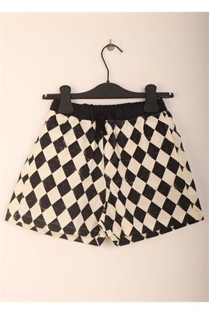 Child costume with white and black rhombuses Little creative factory | 85 | LCF120ROMBI