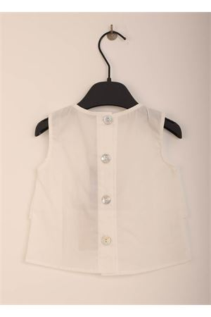 White cotton girl shirt Minimu