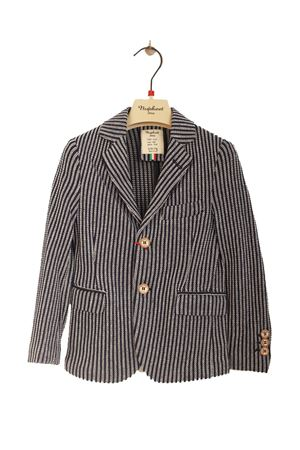 White and blue striped boy blazer Nupkeet | 3 | NUP212BLURIGA