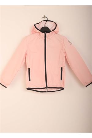 Pink windproof jacket for girls Sun