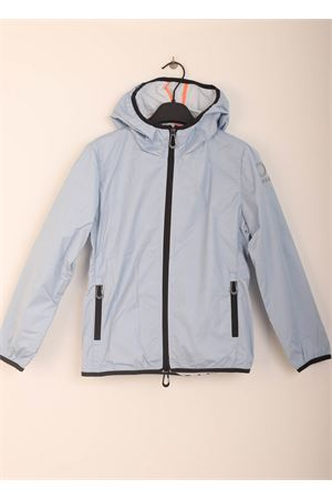 Blue windproof jacket for boys Sun