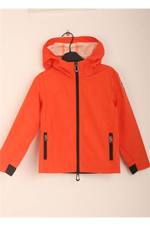 Coral windproof jacket for kids Sun