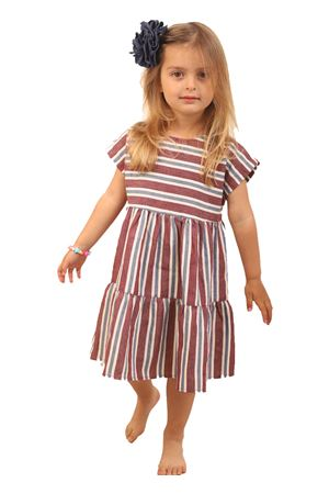Linen and cotton dress with stripes Zhoe & Tobiah | 5032262 | ZET08RIGA